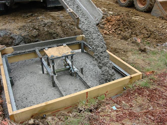 Зависимость конструкции фундамента от гидрогеологических условий