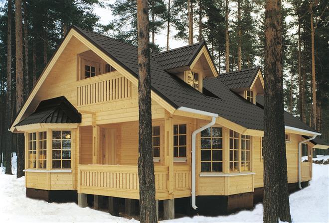 Деревянный дом: брусовый, каркасно-щитовой или бревенчатый?